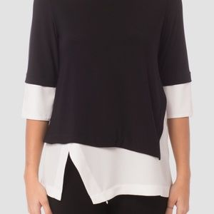 NWT Joseph Ribkoff layered top.